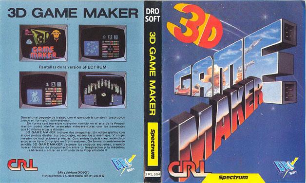 Game Maker Juegos 3d 3d Game Maker Carátula